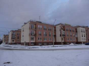 Жилой комплекс зимой